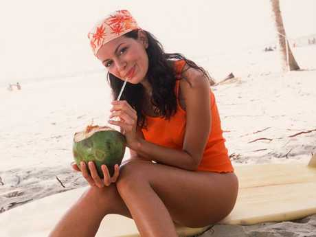 See? Drinking coconut water can make you feel amazing!