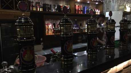 Pyongyang produces its own style of beer. Picture: Ian Collins