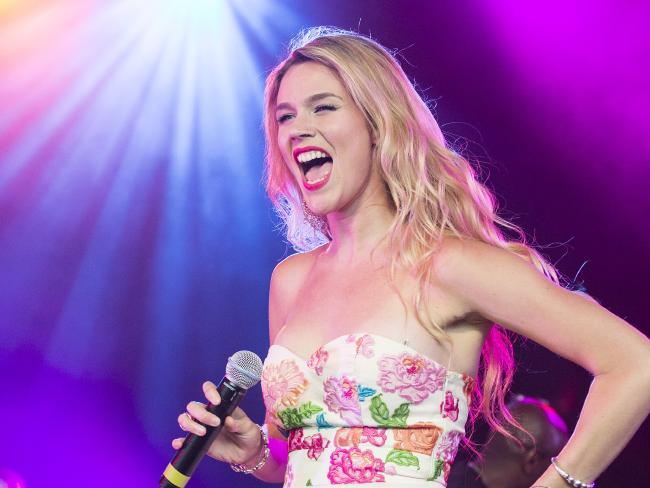 Jenae was a backup singer for Joss Stone. Picture: Getty