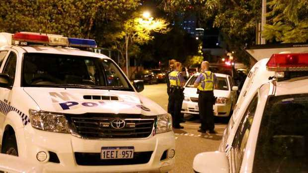 A Perth man has been hit with 18 offences over an alleged 45 minute crime spree.
