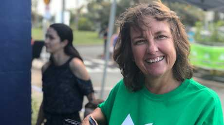 ADANI ON THE MIND: Jeanette Kesels felt she had to volunteer this election.