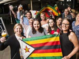 Our Zimbabweans embrace Mugabe's fall