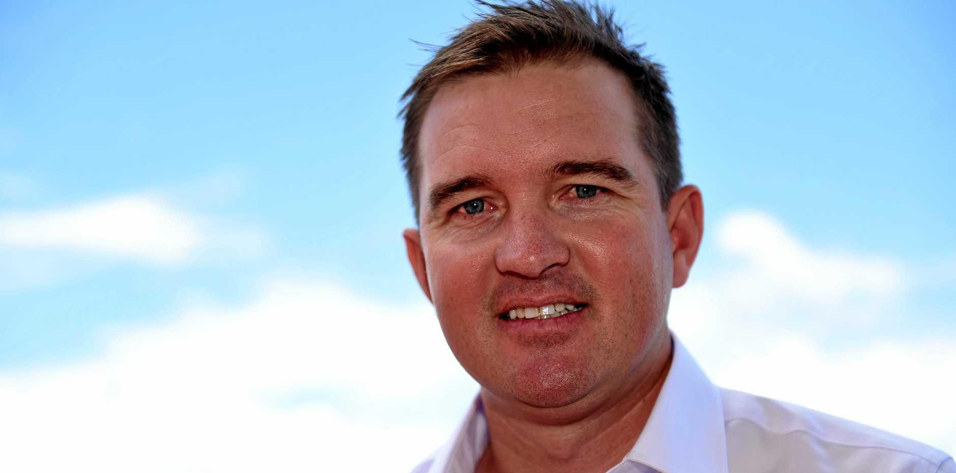 TAKING STOCK: Former Australian spinner Nathan Hauritz at Hervey Bay.