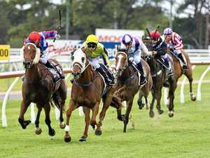 Jockey claim hat-trick at Toowoomba's Clifford Park