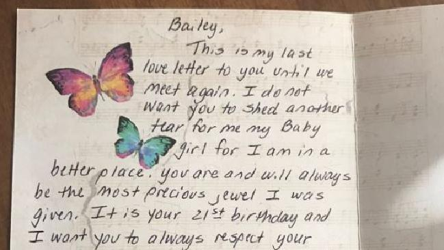 Dad S Heartbreaking Gift To Daughter Chronicle