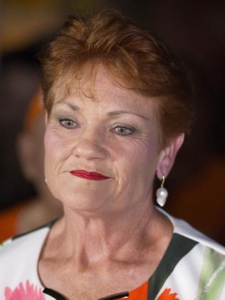 Senator Pauline Hanson is still confident her party can make inroads in Queensland. Picture: Lachie Millard