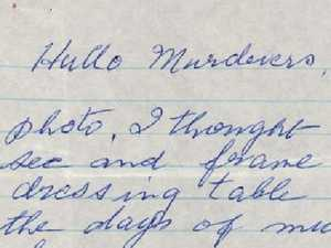 'Torture in hell': Vicious taunts in cruel letters