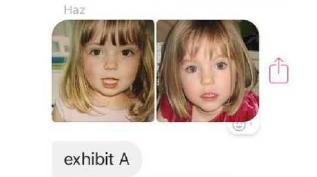 A post from Harriet Brookes joking that she is Madeleine McCann has gone viral.