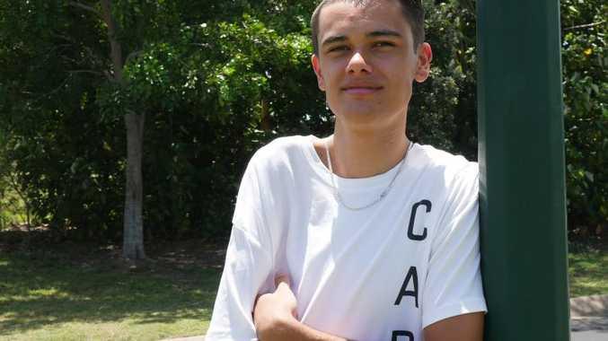 NO LIMITS; Urangan teen Mason Clarke.