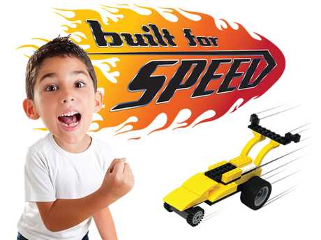 Start your engines Built for Speed is back! Thrills, spills and awesome crashes are guaranteed!