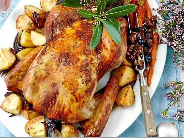 DELICIOUS: Here is a twist on the traditional turkey for you to serve up this Christmas.