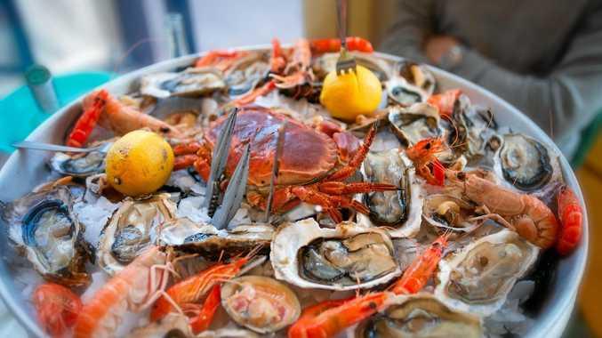 AUSSIE FEAST: This seasfood platter is easy to prepare.