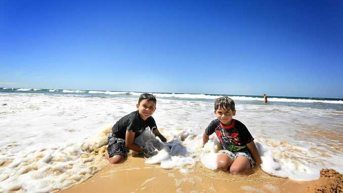FUN: Rainbow Beach offers fun for the whole family.