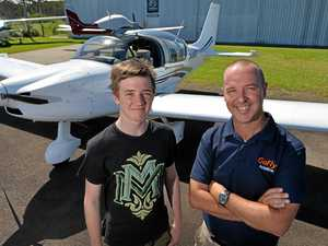 Son's dreams take flight after dad's tragic death