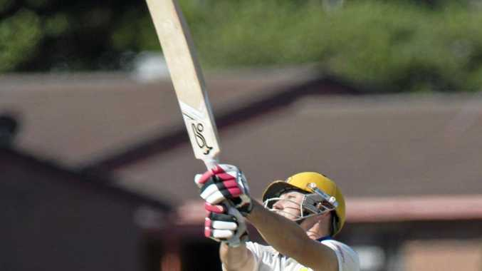 Former Toowoomba representative Aiden Watterson, pictured batting for Metropolitan-Eats, is now playing in the Brisbane competition.