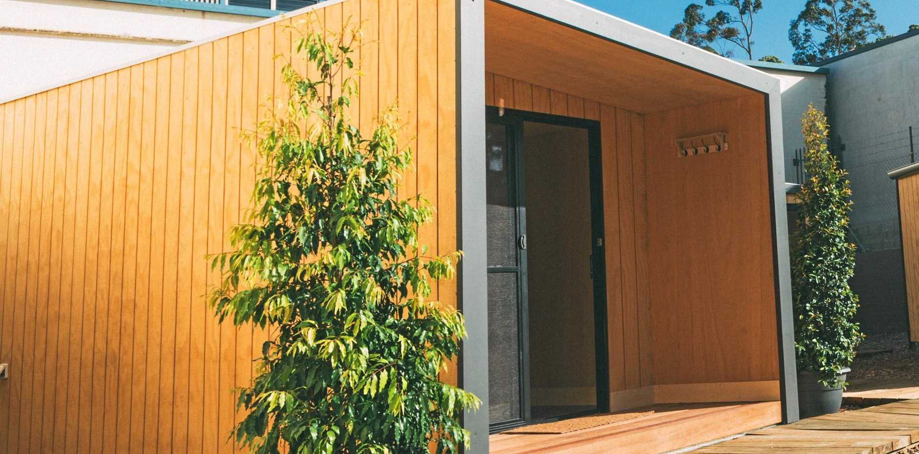 New Bangalow-based business Humpy Co. can take the stress out of renovations with their portable, mountable/demountable flat packs for extra space.