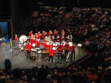 Brisbane's Excelsior Brass Band XLCR.