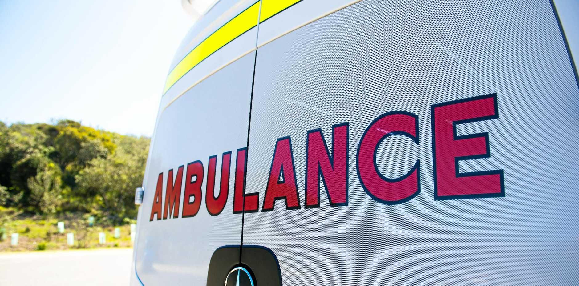 Ambulance were called on scene at 1am.