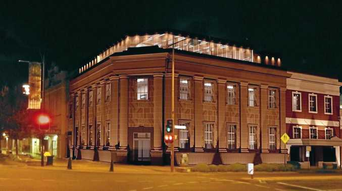 NEW LOOK: An artist's impression of The Bank.