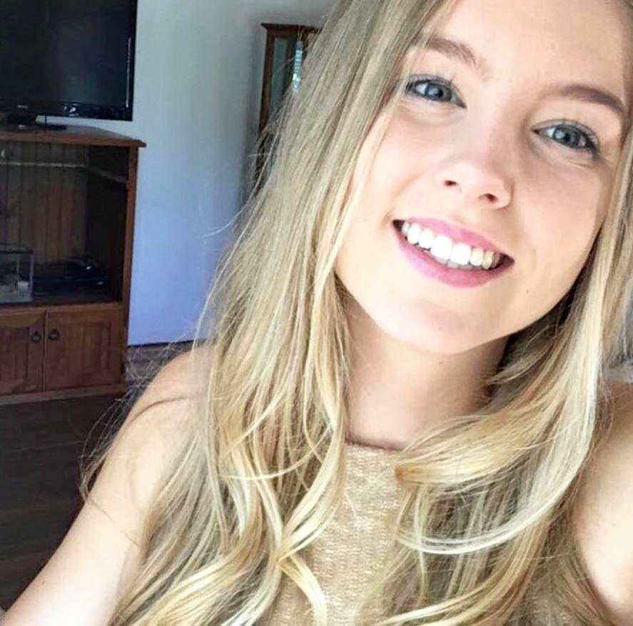 WHAT A SMILE: Hannah Dingle has been remembered as a smiling and happy young woman.