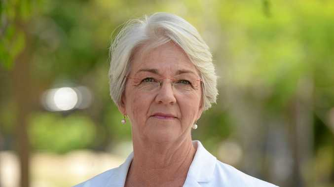 Independent candidate for Rockhampton Magaret Strelow.