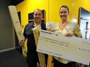 Grant hits the sweet spot with Maryborough Cricket