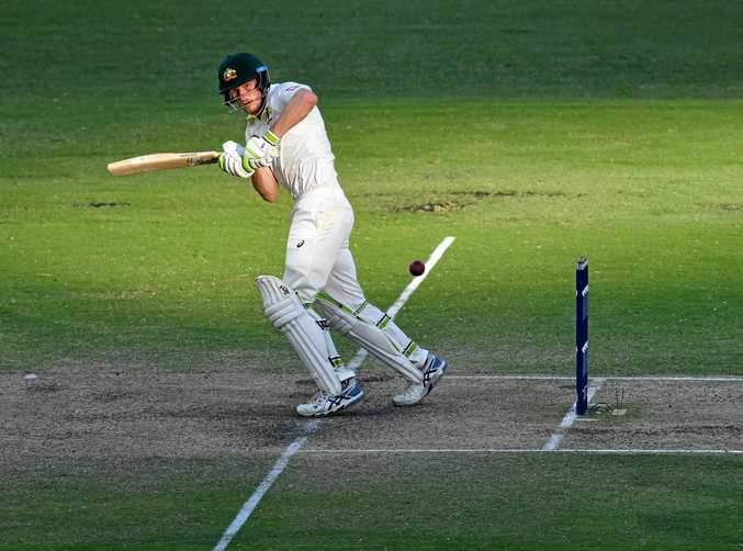 Cameron Bancroft steers Australia to victory in the first Ashes Test of the summer.