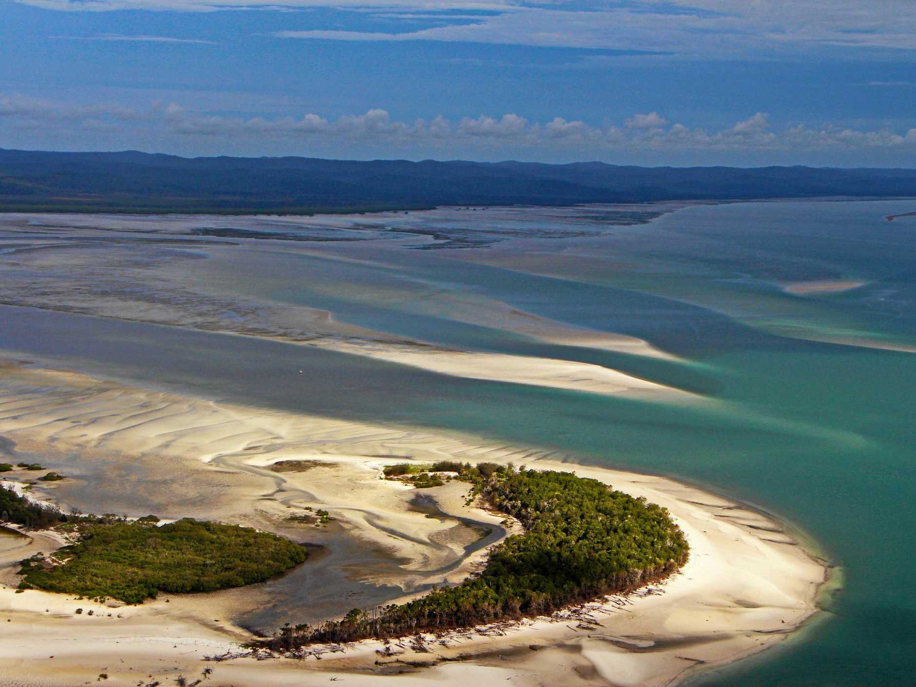 The Great Sandy Strait and Cooloola are in the running for World Heritage.