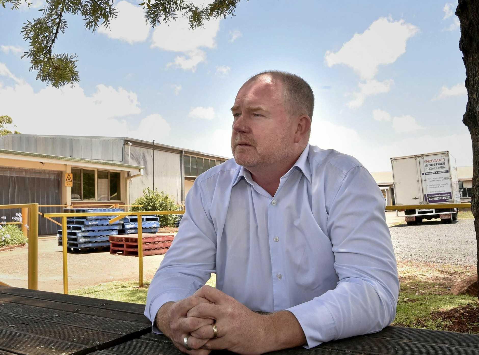 Endeavour Foundation general manager - service delivery Tony Vidler . Break in at Endeavour Foundation, Ramsay St. November 2017