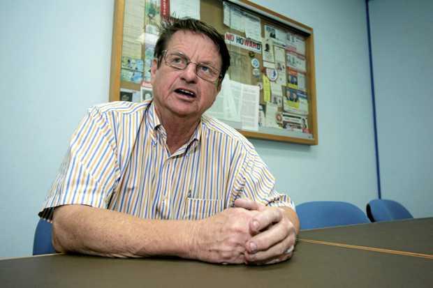 MP Robert Schwarten packs up his office back in 2012.