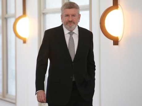 """Communications Minister Mitch Fifield slammed the decision to January 27th, calling it """"bewildering"""". Picture Kym Smith"""