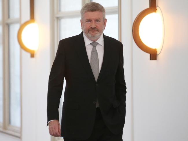 "Communications Minister Mitch Fifield slammed the decision to January 27th, calling it ""bewildering"". Picture Kym Smith"