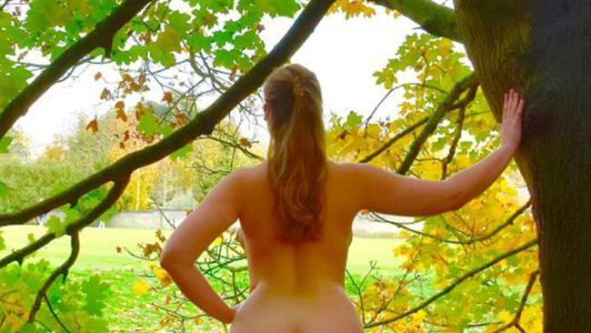 A Cambridge University law student has taken out the best bum. Picture: SWNS/Mega