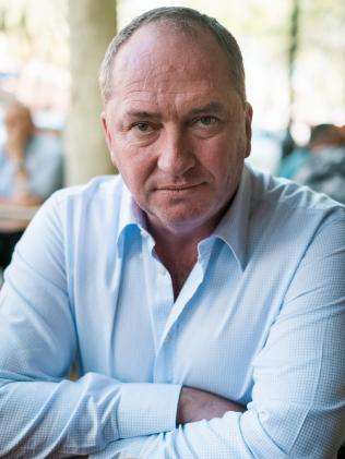 Barnaby Joyce is tipped to spearhead the new-look Queensland Nationals. Picture:  Antony Hands/The Australian