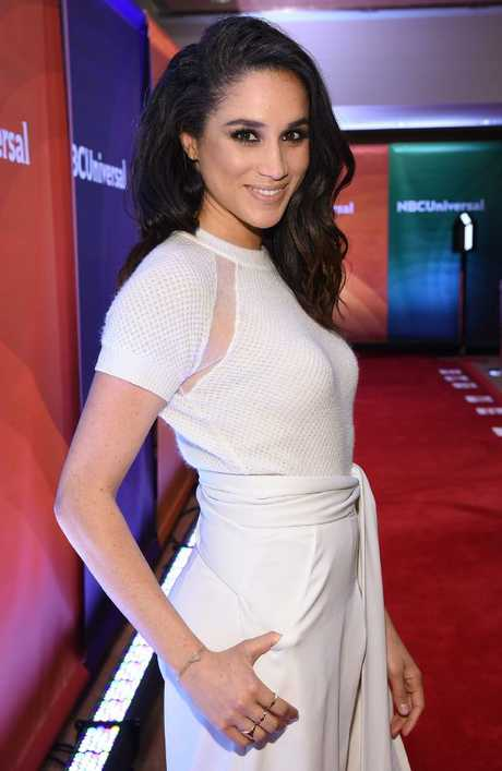Meghan Markle at NBC Universal. Picture: Supplied.