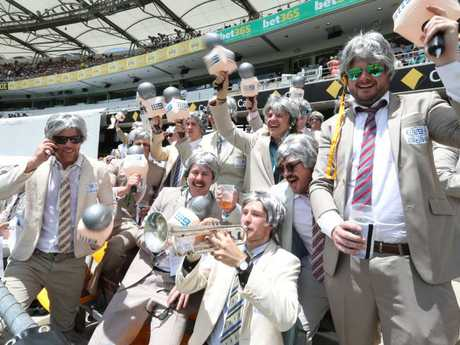 The Richies were out in force in a carnival atmosphere at The Gabba.