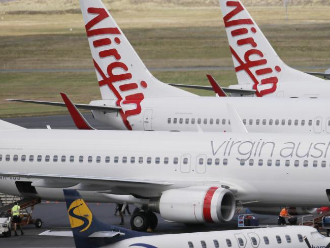 Virgin Australia has revealed how it makes the difficult decision cancel flights as a result of a volcanic eruption. Picture: Matt Thompson