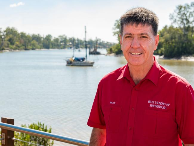 Labor Member for Maryborough Bruce Saunders has retained his volatile seat.