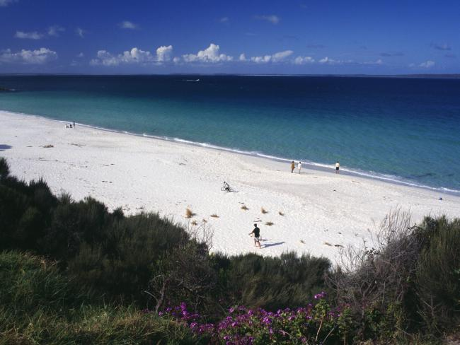 Hyams Beach has been named among the world's top 10. Picture: Tourism Australia