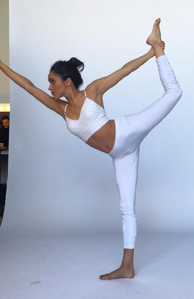 Meghan Markle loves yoga. Picture: Instagram.
