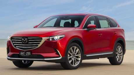 Leading contender: Mazda CX-9's updates make it hard to ignore.
