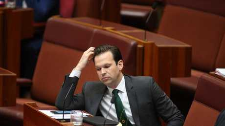 Senator Matt Canavan says the Nationals need to be seen as a separate power in Canberra. Picture: Gary Ramage