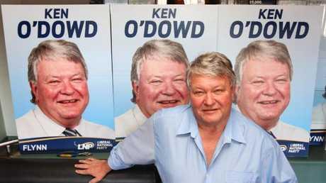 Flynn MP Ken O'Dowd. Picture: Darren England.