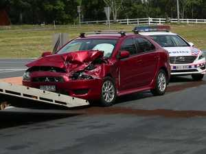 VIDEO: Bruce Hwy crash