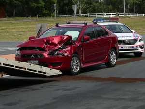 VIDEO: Bruce Hwy crash