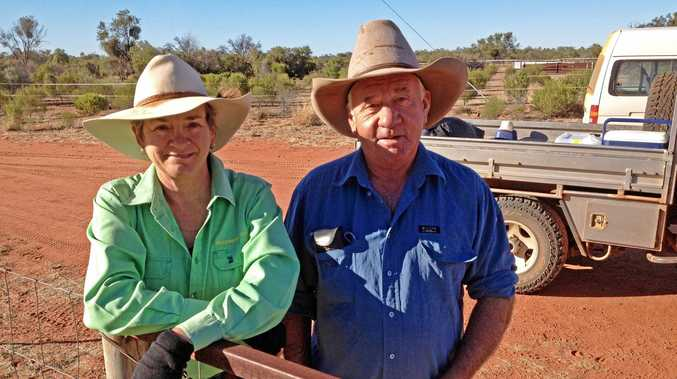 INNOVATORS: Toni and Greg Sherwin from Kilcowera Station, an isolated cattle property that also runs a tourism venture.