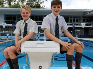 Grammar duo prepare for pool life saving titles