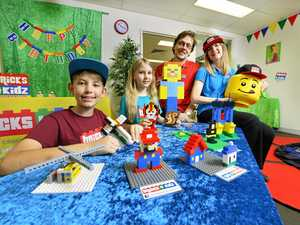 Lego building to help stretch little minds