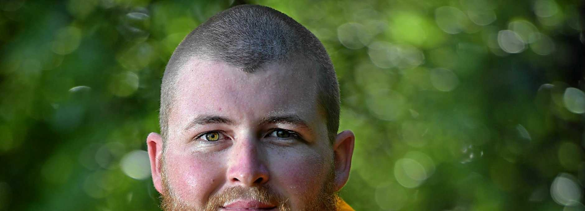Ben Warneke has been inducted in the Rural Fire Brigade.