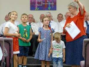 Sing along at Bargara community carol event